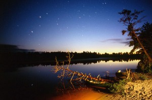 Late Night Tahquamenon River