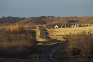 North of Kathryn, North Dakota
