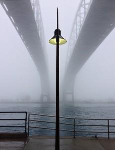 Blue Water Bridge; Michigan
