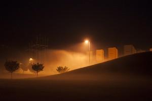 Night Fog; Maryland